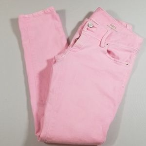 Lilly Pulitzer Worth Skinny Mini Jeans Pink size 0